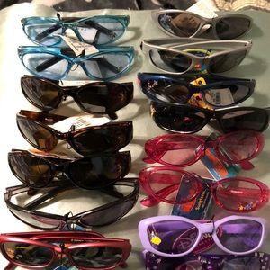 Other - New Lot of 6 Kids Sunglasses
